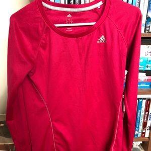 Adidas Climate Running Long Sleeve Shirt Dri-Fit